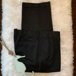 Other - Breakwater 46x32 Black Pleated/Cuffed Dress Pants